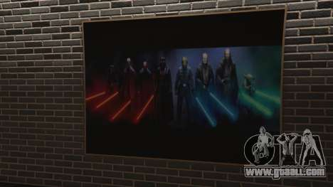GTA 5 Star Wars Posters for Franklins House 0.5 fourth screenshot