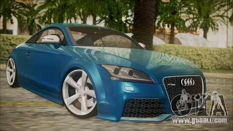 Audi TT RS 2011 v3 for GTA San Andreas