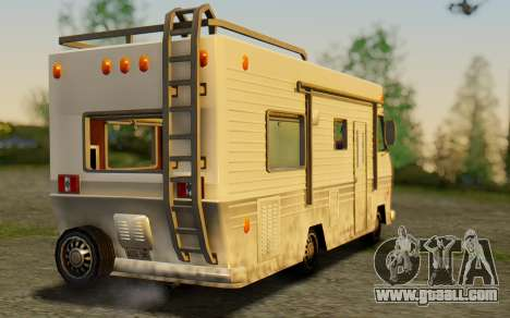 Winnebago Brave 1979 for GTA San Andreas left view