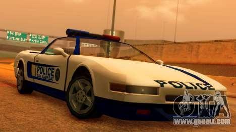 Police Infernus for GTA San Andreas