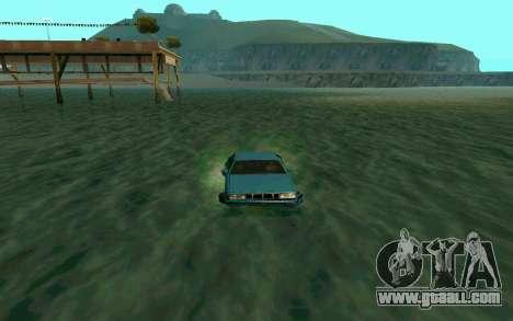 Cars Water for GTA San Andreas third screenshot
