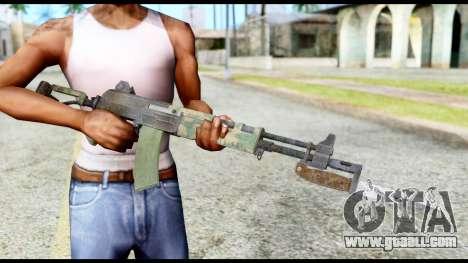 AK-47 from Resident Evil 6 for GTA San Andreas third screenshot