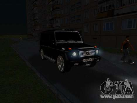 Mercedes-Benz G 320 for GTA San Andreas engine
