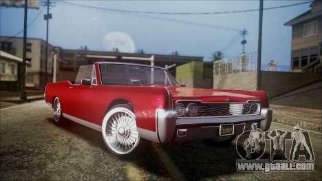GTA 5 Vapid Chino for GTA San Andreas