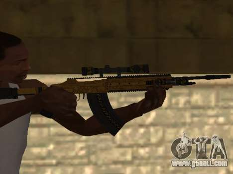 Marksman Rifle for GTA San Andreas
