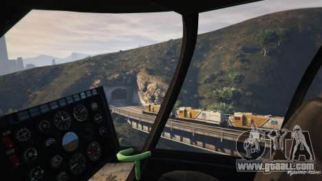 GTA 5 Improved freight train 3.8