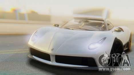 GTA 5 Pegassi Osiris IVF for GTA San Andreas back left view