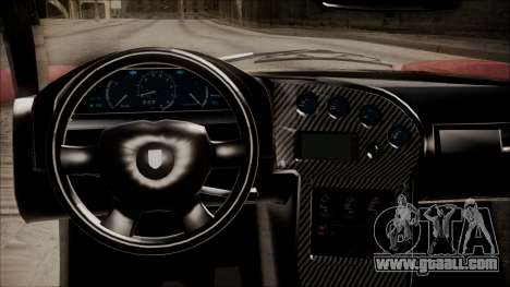 GTA 5 Grotti Turismo R IVF for GTA San Andreas back view