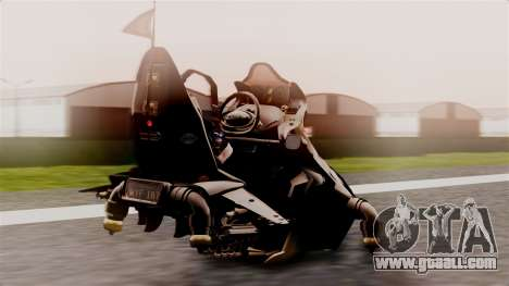 NRG Moto Jet Buzz Dirt Model for GTA San Andreas left view