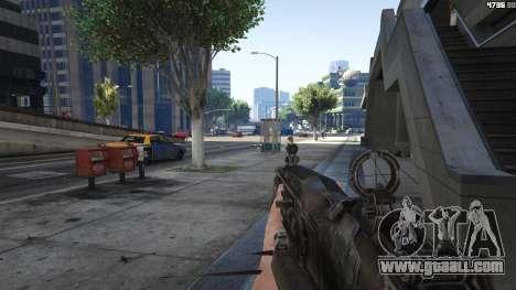 GTA 5 Gears of War Lancer 1.0.0 fifth screenshot