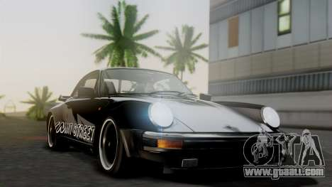 Porsche 911 Turbo (930) 1985 Kit A for GTA San Andreas inner view