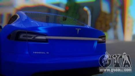 Tesla Model S for GTA San Andreas inner view
