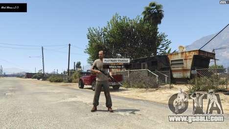 GTA 5 Mod Menu (No More Hotkeys) 2.0 second screenshot