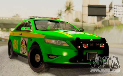 Ford Taurus Iraq Police for GTA San Andreas