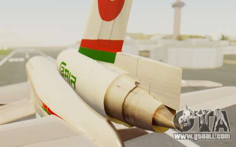 DC-10-30 Biman Bangladesh Airlines for GTA San Andreas back left view