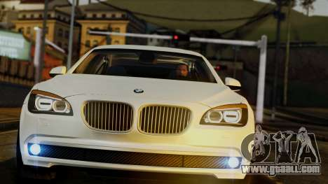 BMW 7 Series F02 2013 for GTA San Andreas