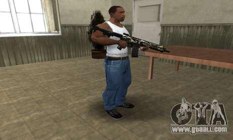 Kaymay M4 for GTA San Andreas third screenshot