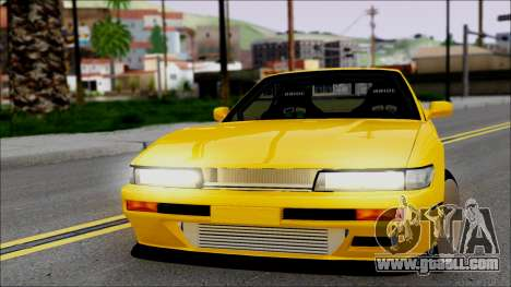Nissan Silvia S13 for GTA San Andreas back left view
