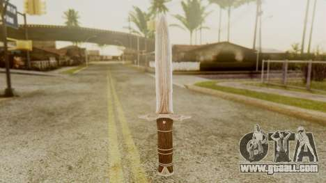 Iron Dagger for GTA San Andreas