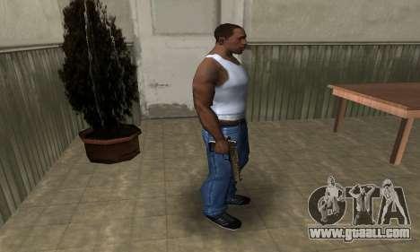 Brown Jungles Deagle for GTA San Andreas third screenshot
