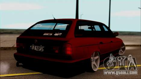BMW M5 Touring E34 for GTA San Andreas left view