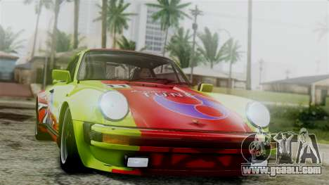 Porsche 911 Turbo (930) 1985 Kit C for GTA San Andreas side view