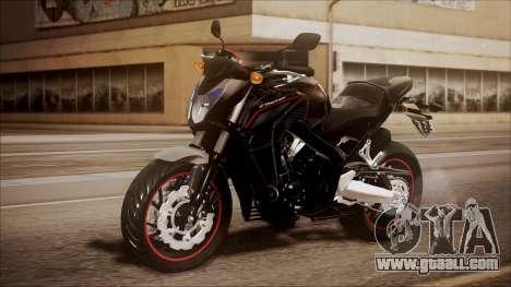 Honda CB650F Pretona for GTA San Andreas