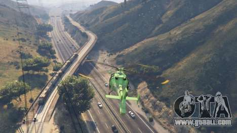 GTA 5 Improved freight train 3.8 second screenshot
