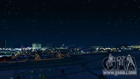 Skybox Real Stars and Clouds v2 for GTA San Andreas third screenshot