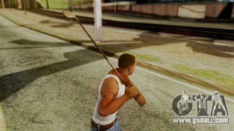 Golf Club from Silent Hill Downpour for GTA San Andreas third screenshot