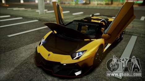 Lamborghini Veneno LP700-4 AVSM Roadster Version for GTA San Andreas inner view