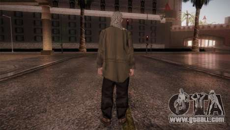 Terrorist for GTA San Andreas third screenshot