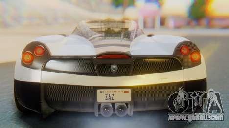 GTA 5 Pegassi Osiris IVF for GTA San Andreas upper view