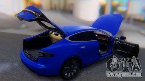 Tesla Model S for GTA San Andreas upper view