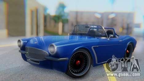 Invetero Coquette BlackFin Convertible for GTA San Andreas