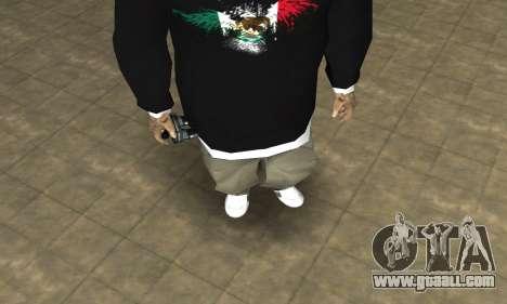 Rifa Skin First for GTA San Andreas second screenshot