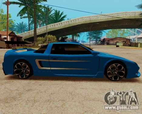 Infernus Lamborghini for GTA San Andreas left view