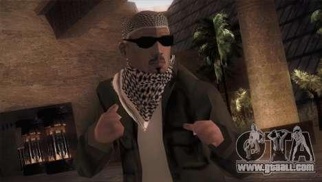 Terrorist for GTA San Andreas