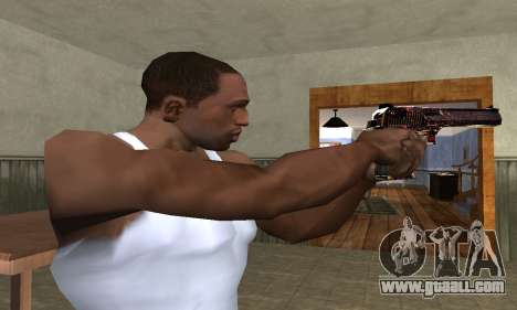 Klajk Deagle for GTA San Andreas second screenshot