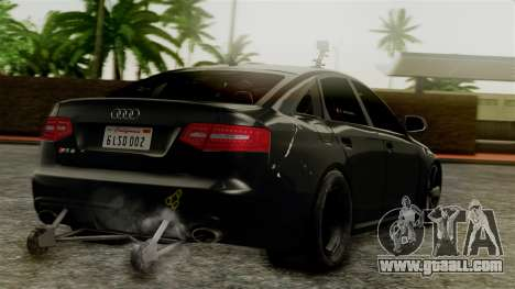 Audi RS6 Civil Drag Version for GTA San Andreas left view