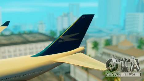 Boeing 747 Argentina Airlines for GTA San Andreas back left view