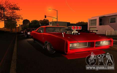 Zolta ENB for GTA San Andreas forth screenshot