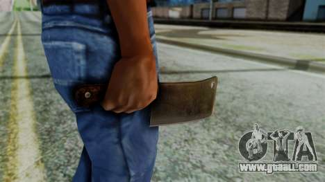 Cleaver from Silent Hill Downpour for GTA San Andreas third screenshot