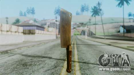 Cleaver from Silent Hill Downpour for GTA San Andreas