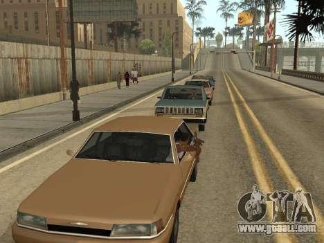 Manual Driveby for GTA San Andreas