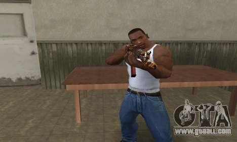 Leopard AK-47 for GTA San Andreas second screenshot