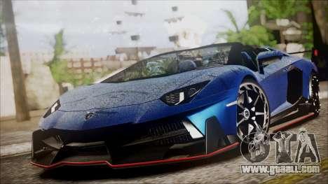Lamborghini Veneno LP700-4 AVSM Roadster Version for GTA San Andreas