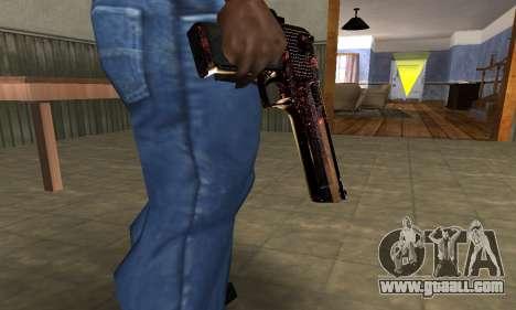 Klajk Deagle for GTA San Andreas