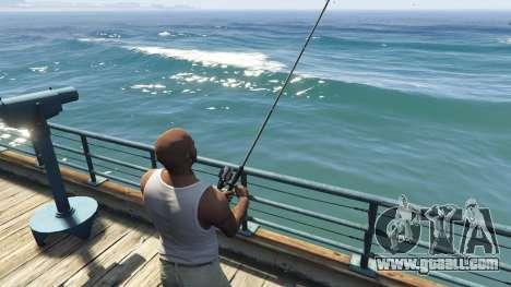 GTA 5 Fishing Mod 0.2.7 BETA sixth screenshot
