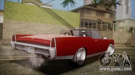 GTA 5 Vapid Chino for GTA San Andreas left view